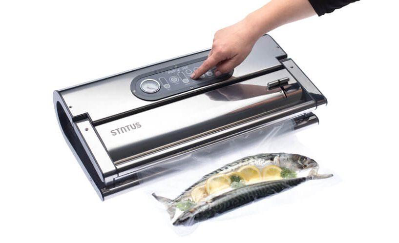 Vakumski aparat Provac 360 vakumiranje riba u vakumske vrećice.