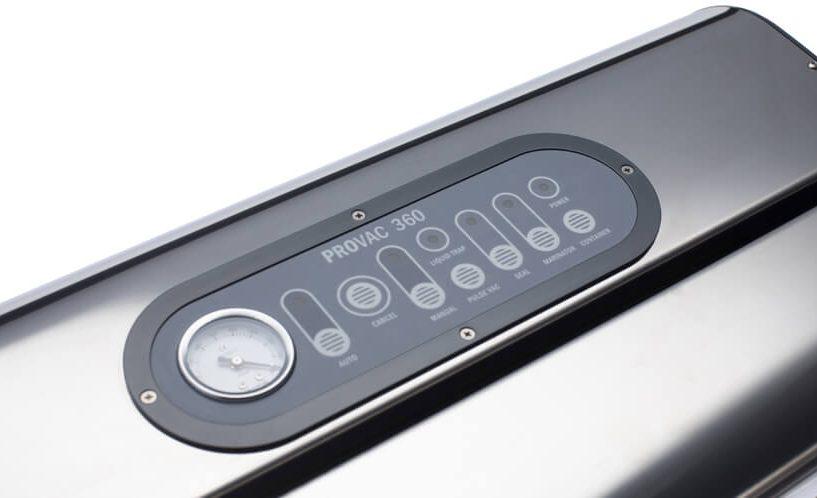Kontrolna ploča vakuumskog aparata Provac