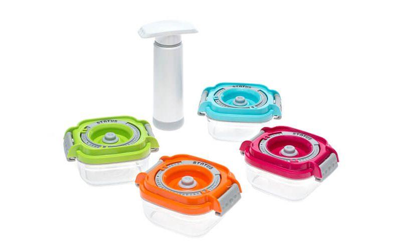5-dijelni set vakuumskih posuda za dječju hranu