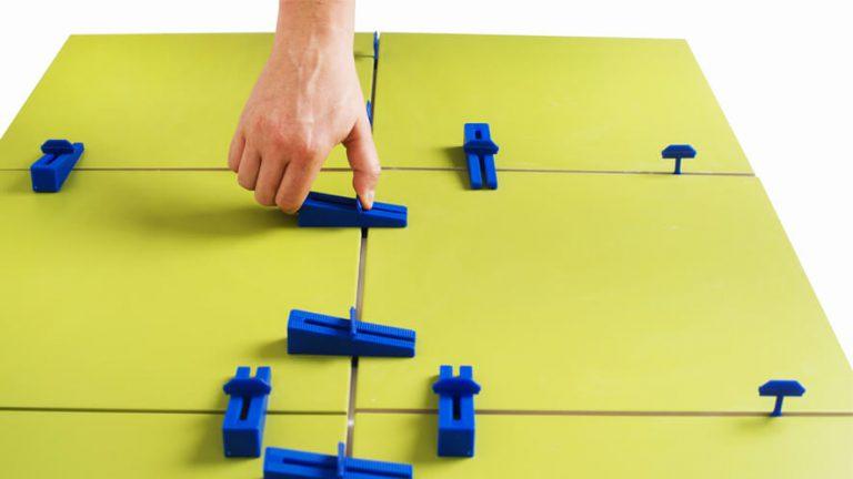 sustav za niveliranje keramike - ručno zatezanje klinova i spojki