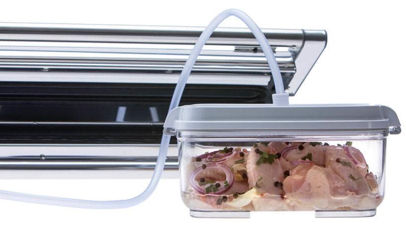 Provac marinator set - vakuumska posuda i poseban priključak za vakuumski aparat