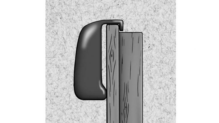 Vješalica za vrata - skica
