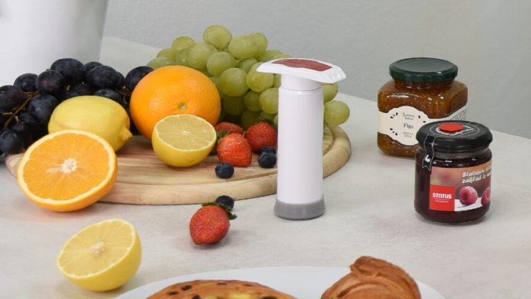 Vakuumska pumpica posebne serije za vakuumsko zatvaranje marmelade