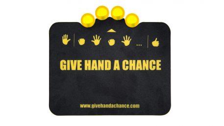 Aktivni podložak za miša Give hand a chance