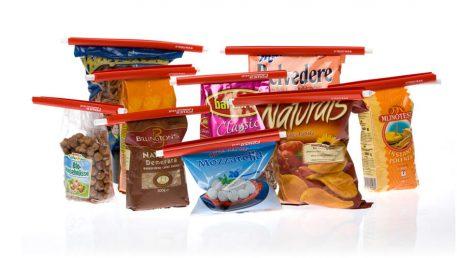 kvačice za vrećice nepropusno zatvore hranu u originalnoj ambalaži