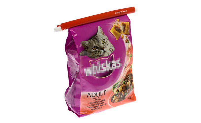 kako zatvoriti hranu za mačke?