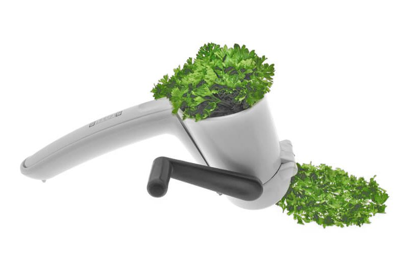 sjeckanje začinskog bilja