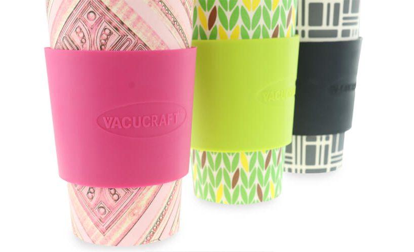 silikonska zaštita na bambus čaši