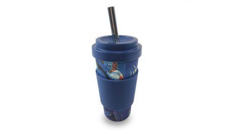 Bambusova čaša Vacucraft sa slamkom