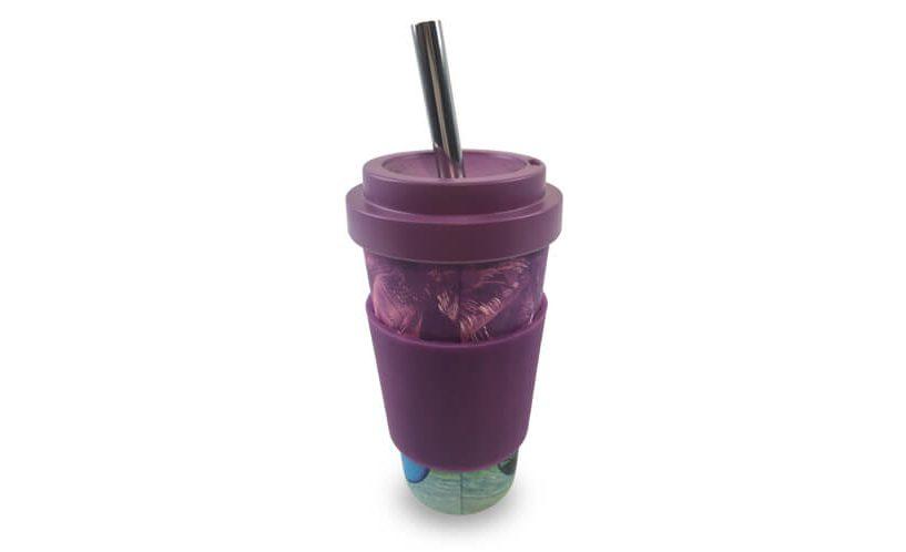 bambus čaša slamka