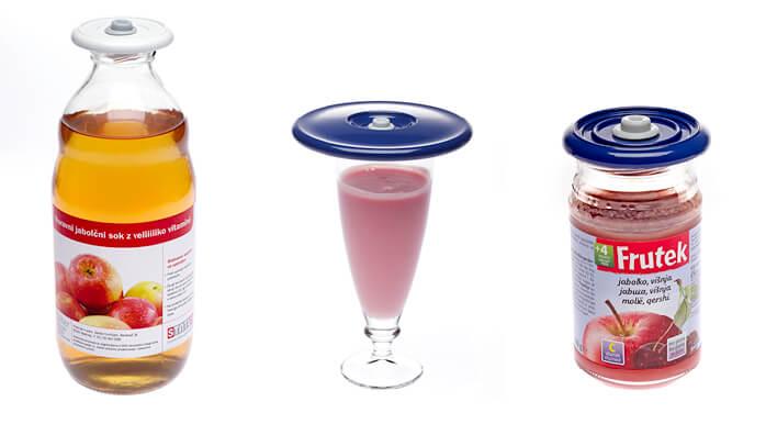 Zatvorite bocu ili čašu - izaberite primjerenu veličinu poklopca.